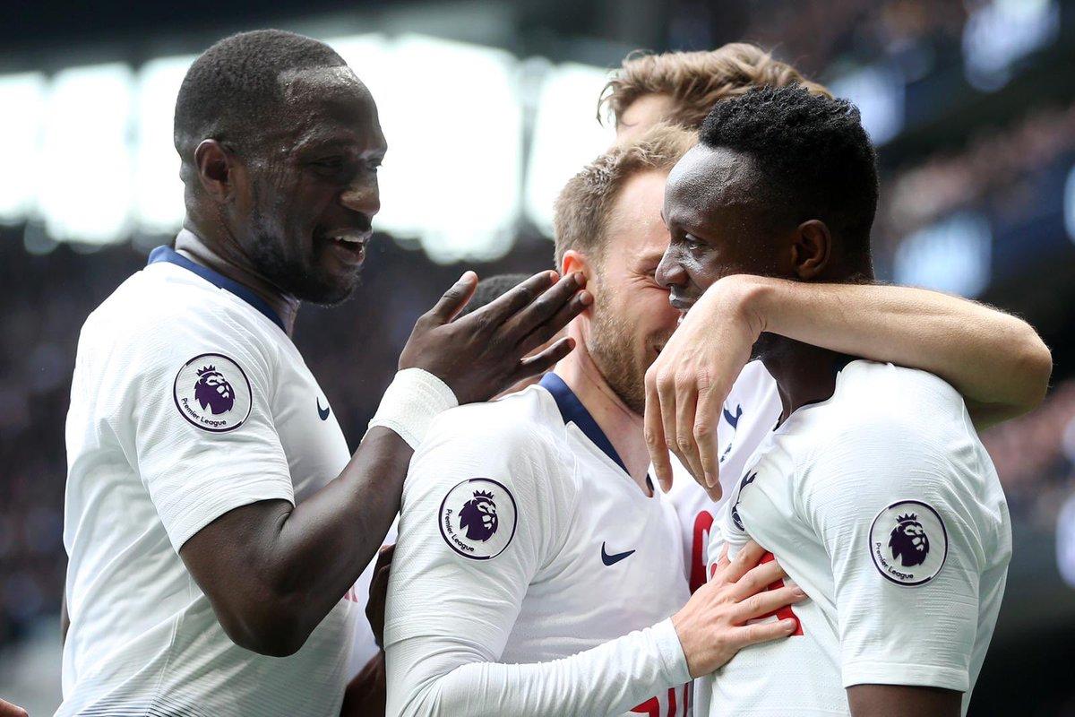 توتنهام يستعد المركز الثالث في الدوري الإنجليزي بفوزه على هادرسفيلد