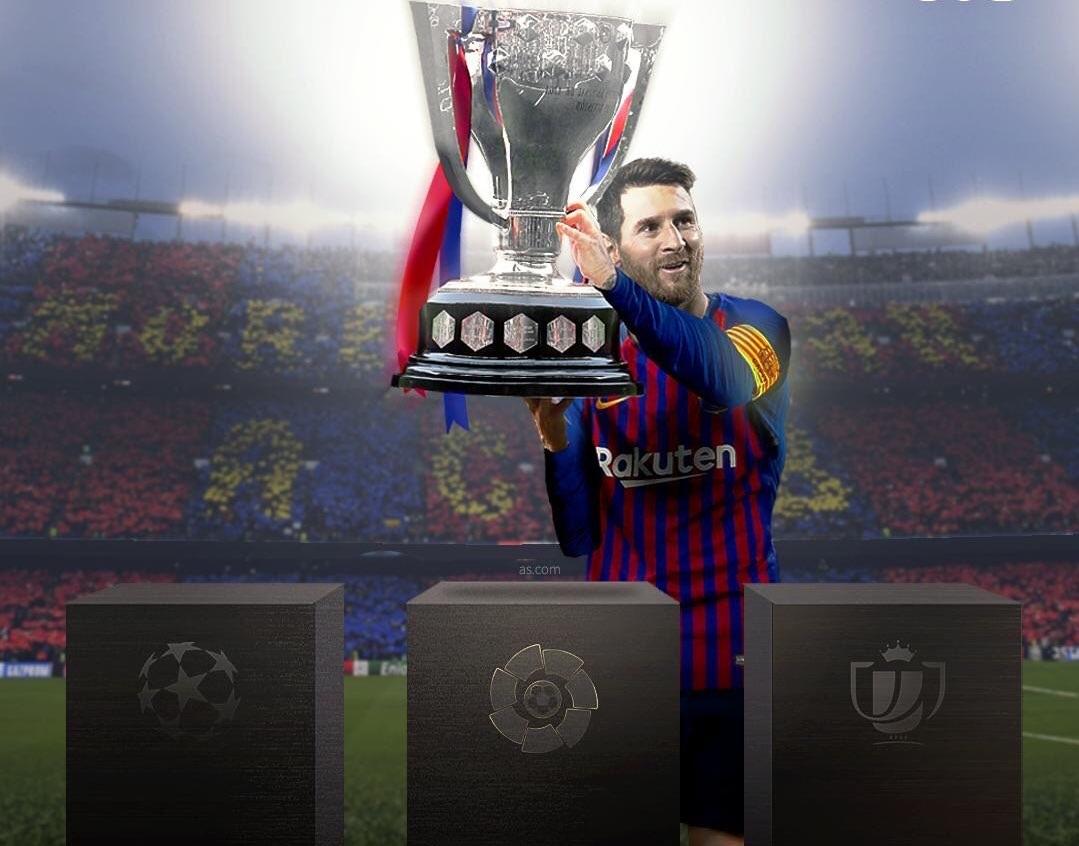 تعرف على جميع إنجازات الأرجنتيني ليونيل ميسي مع نادي برشلونه
