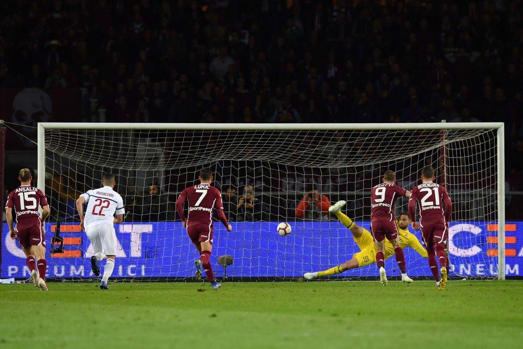 تورينو يُسقط ميلان ميلان بثنائية في الدوري الإيطالي