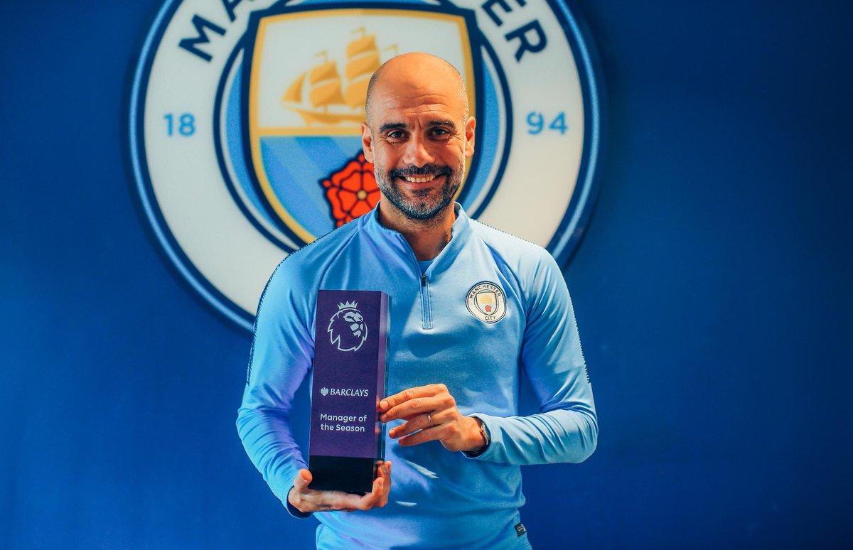 رسمياً … بيب غوارديولا يفوز بجائزة مدرب الموسم في الدوري الإنجليزي