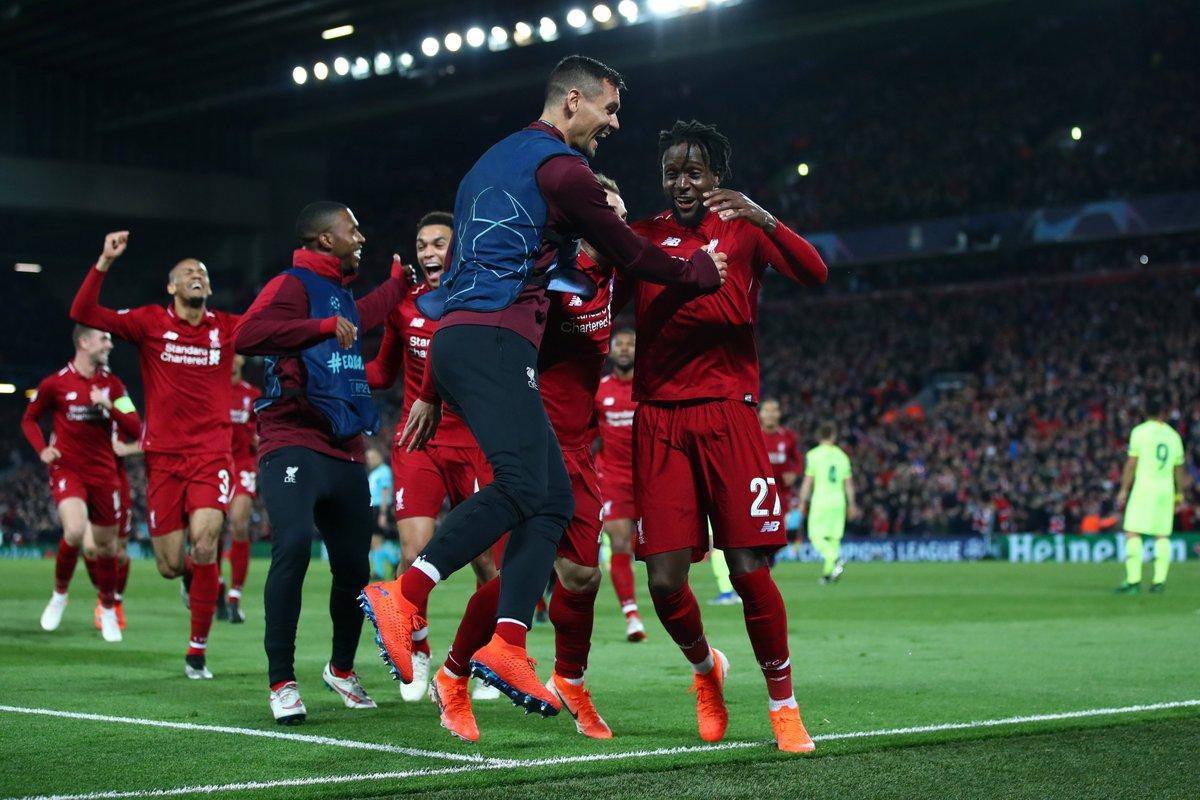 ريمونتادا تاريخيّة لـ ليفربول تقصي برشلونة من دوري الأبطال