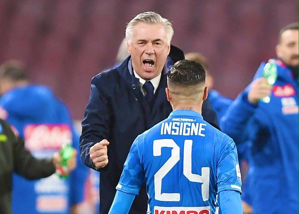 نابولى يحقق فوزاً قاتلاً على كالياري في الدوري الإيطالي