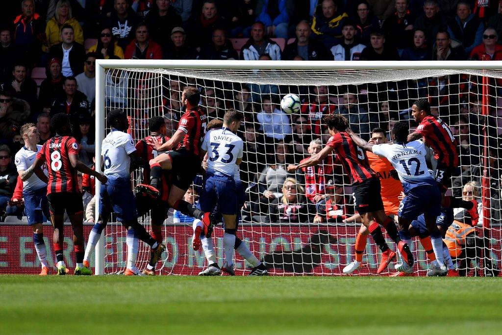 توتنهام يسقط أمام بورنموث في الدوري الإنجليزي