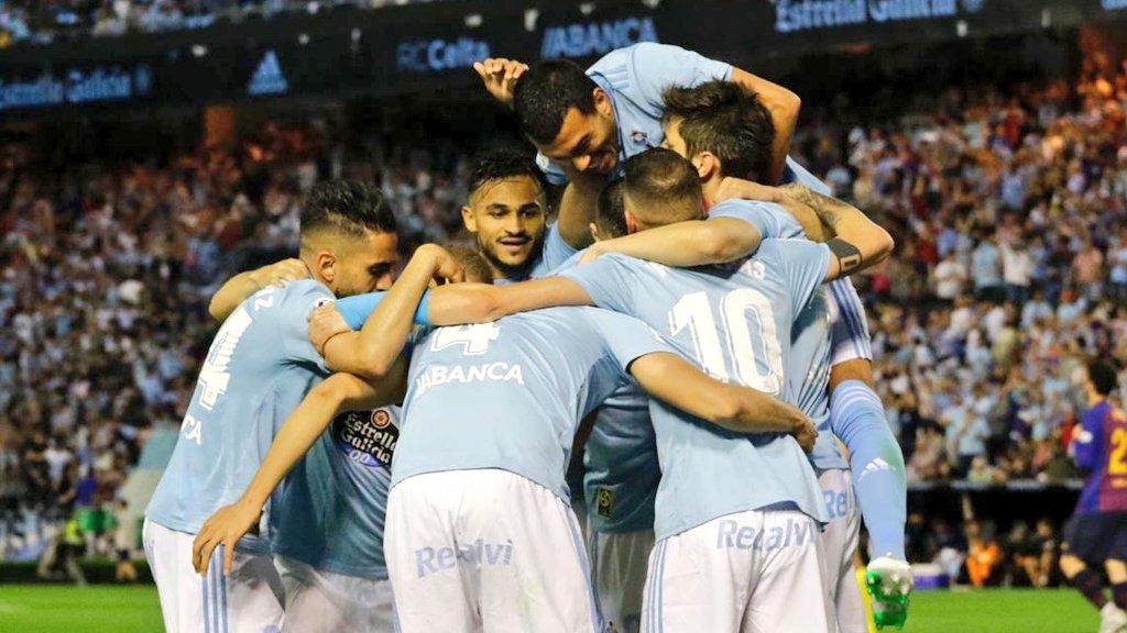 سيلتا فيغو يتغلب على برشلونة بثنائية نظيفة في الدوري الإسباني