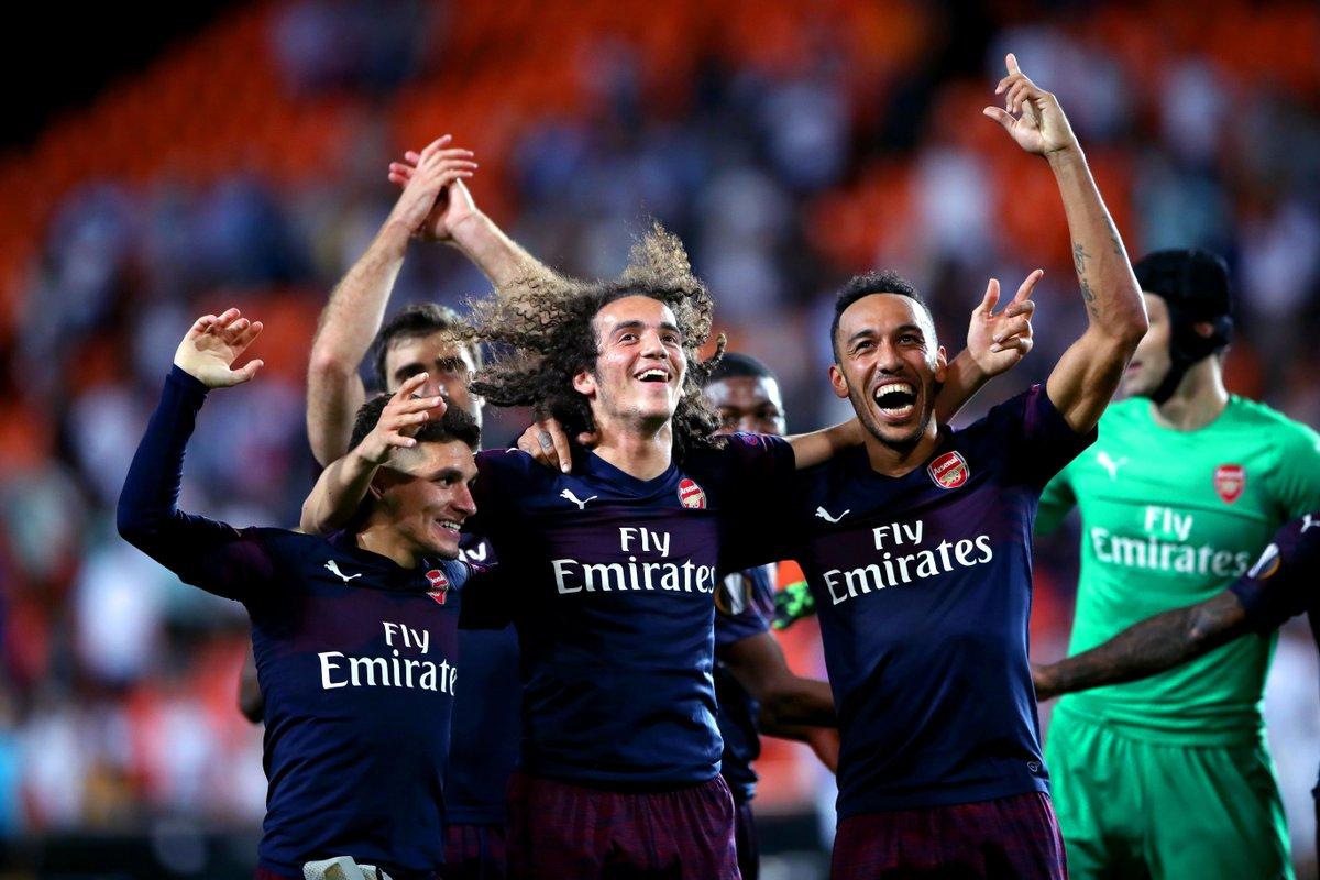 أرسنال يكرر فوزه على فالنسيا يتأهل لنهائي الدوري الأوروبي للمرة الثانية
