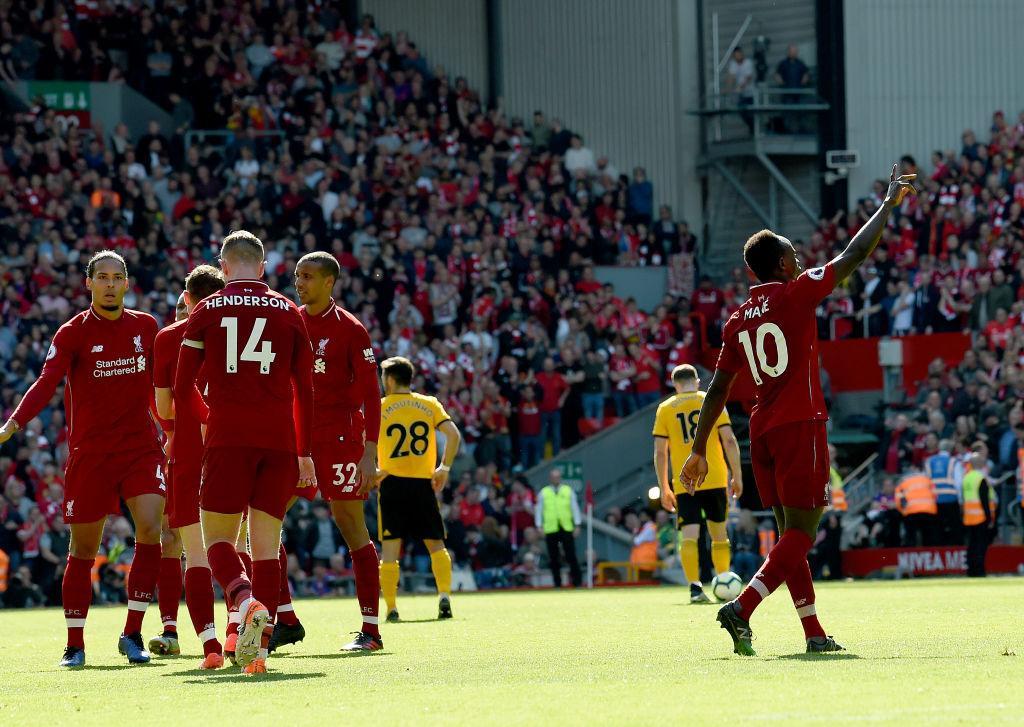ليفربول يكتفي بوصافة الدوري الإنجليزي رغم فوزه على ولفرهامبتون