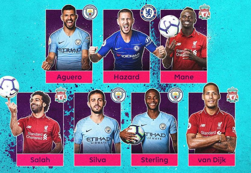 الإعلان عن أسماء المرشحين الـ 7 لجائزة أفضل لاعب في الدوري الإنجليزي