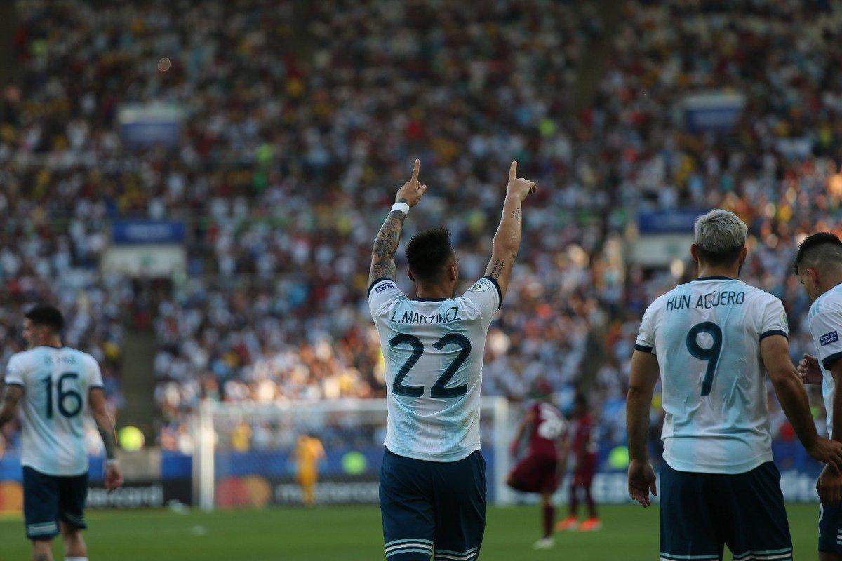 الأرجنتين تقصي فنزويلا وتتأهل لمواجهة البرازيل في نصف نهائي كوبا أميركا