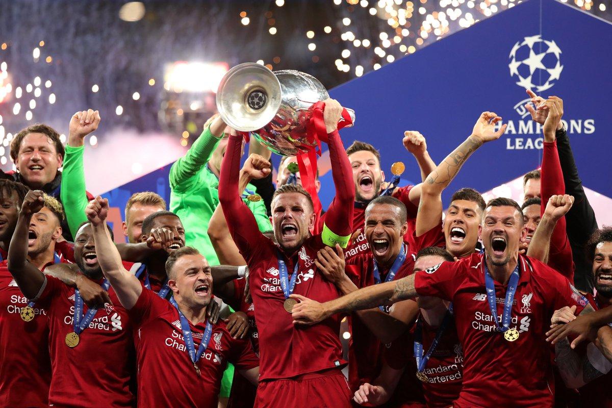 ليفربول يتوج بلقب دوري الأبطال على حساب توتنهام