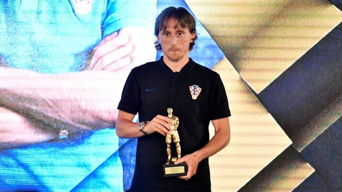 رسمياً … لوكا مودريتش يحصد جائزة أفضل لاعب كرواتي