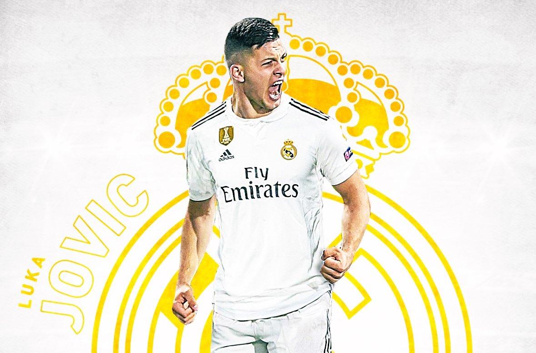 رسمياً … ريال مدريد يعلن ضم المهاجم الصربي لوكا يوفيتش