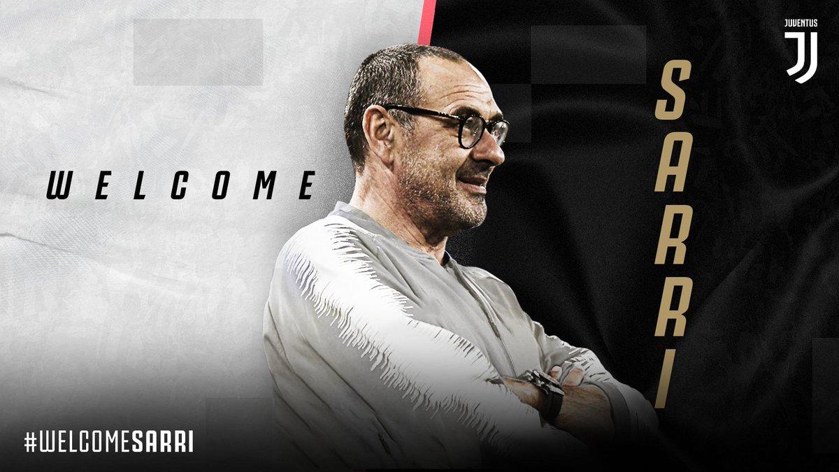 رسمياً … ماوريتسيو ساري مدرباً لنادي يوفنتوس الإيطالي