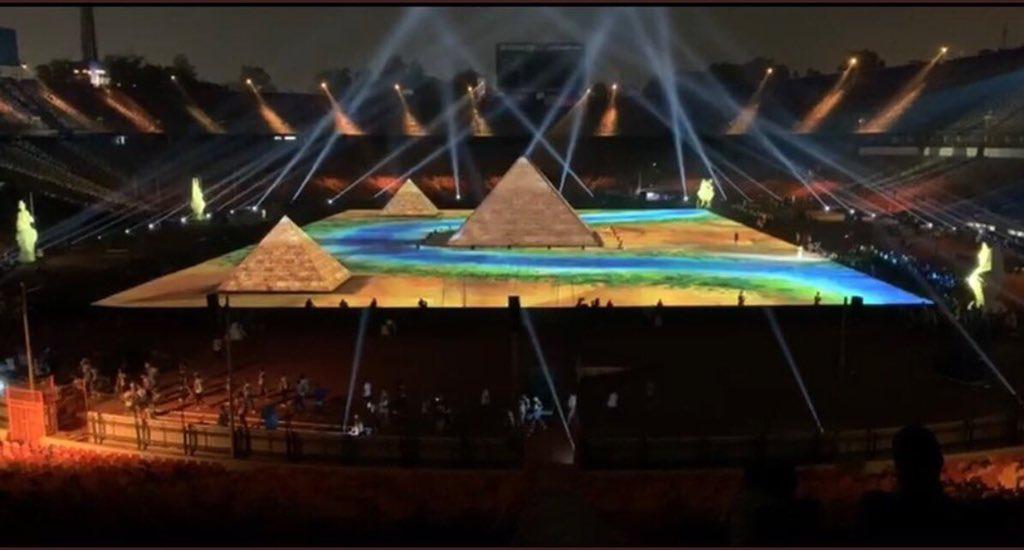 شاهد … حفل مبهر في افتتاح كأس الأمم الأفريقية 2019