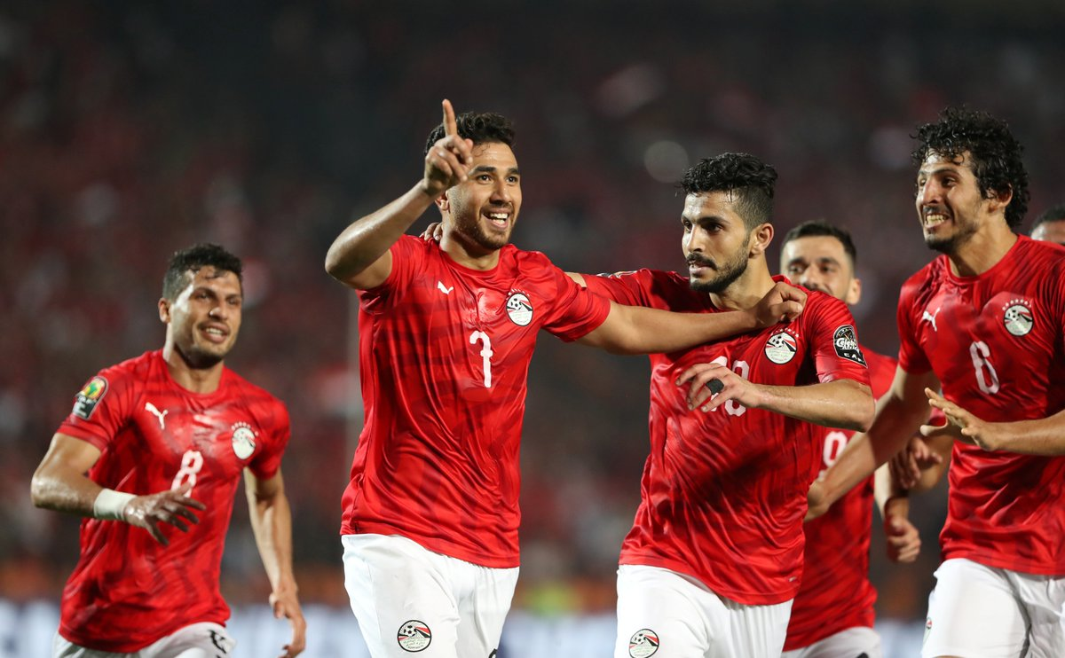 مصر تهزم زمبابوي في افتتاح كأس الأمم الأفريقية 2019