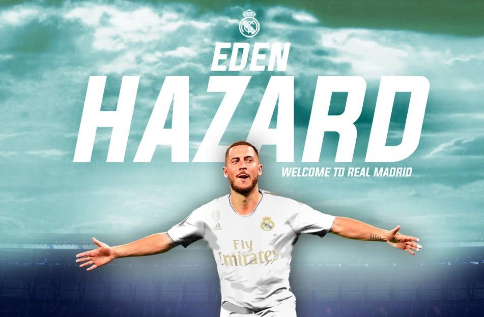 رسمياً … هازارد ينضم رسميا إلى ريال مدريد لـ5 مواسم مقبلة