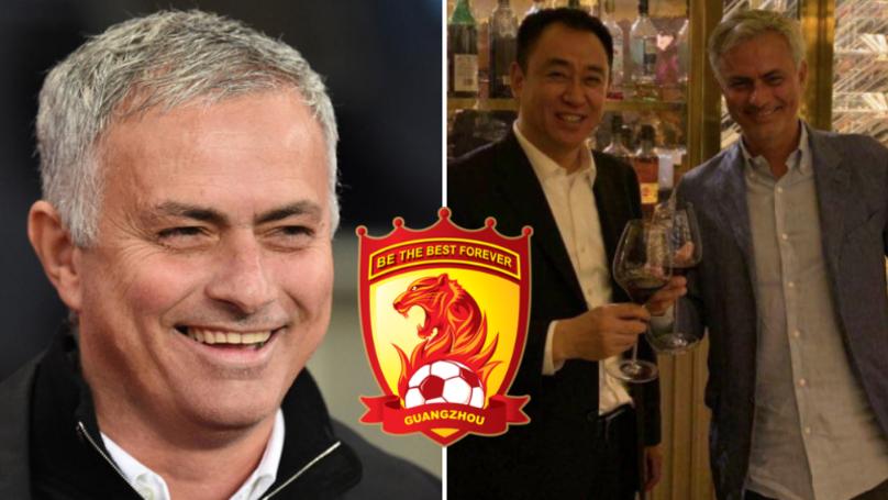 مورينيو يرفض مبلغ 100 مليون يورو من نادي صيني !