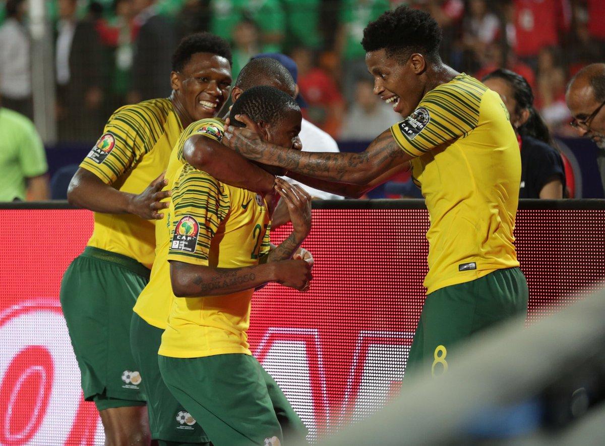 جنوب إفريقيا المفاجأة وتقصي مصر من كأس إفريقيا 2019
