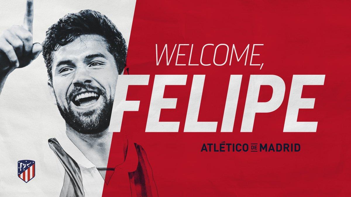 رسمياً … المدافع فيليبي أوجوستو ينضم إلى أتلتيكو مدريد