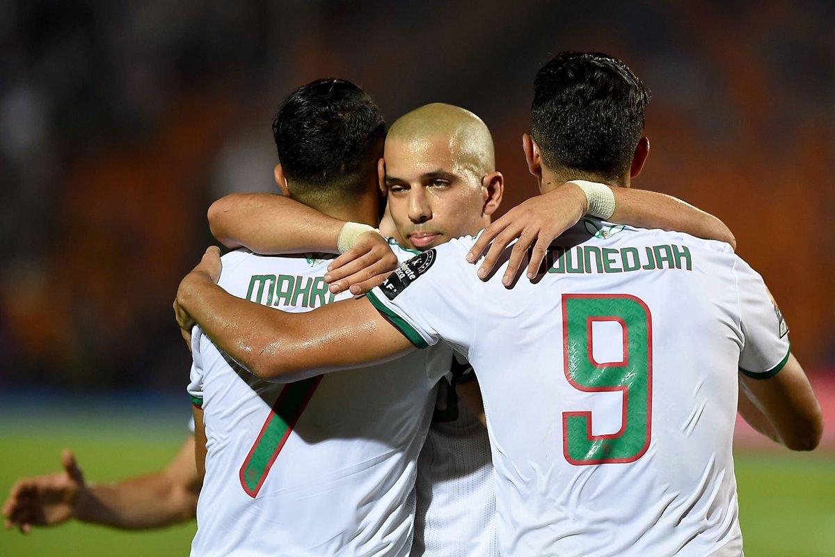 الجزائر تصعد لنهائي كأس إفريقيا بعد فوزها على نجيريا بهدف محرز القاتل