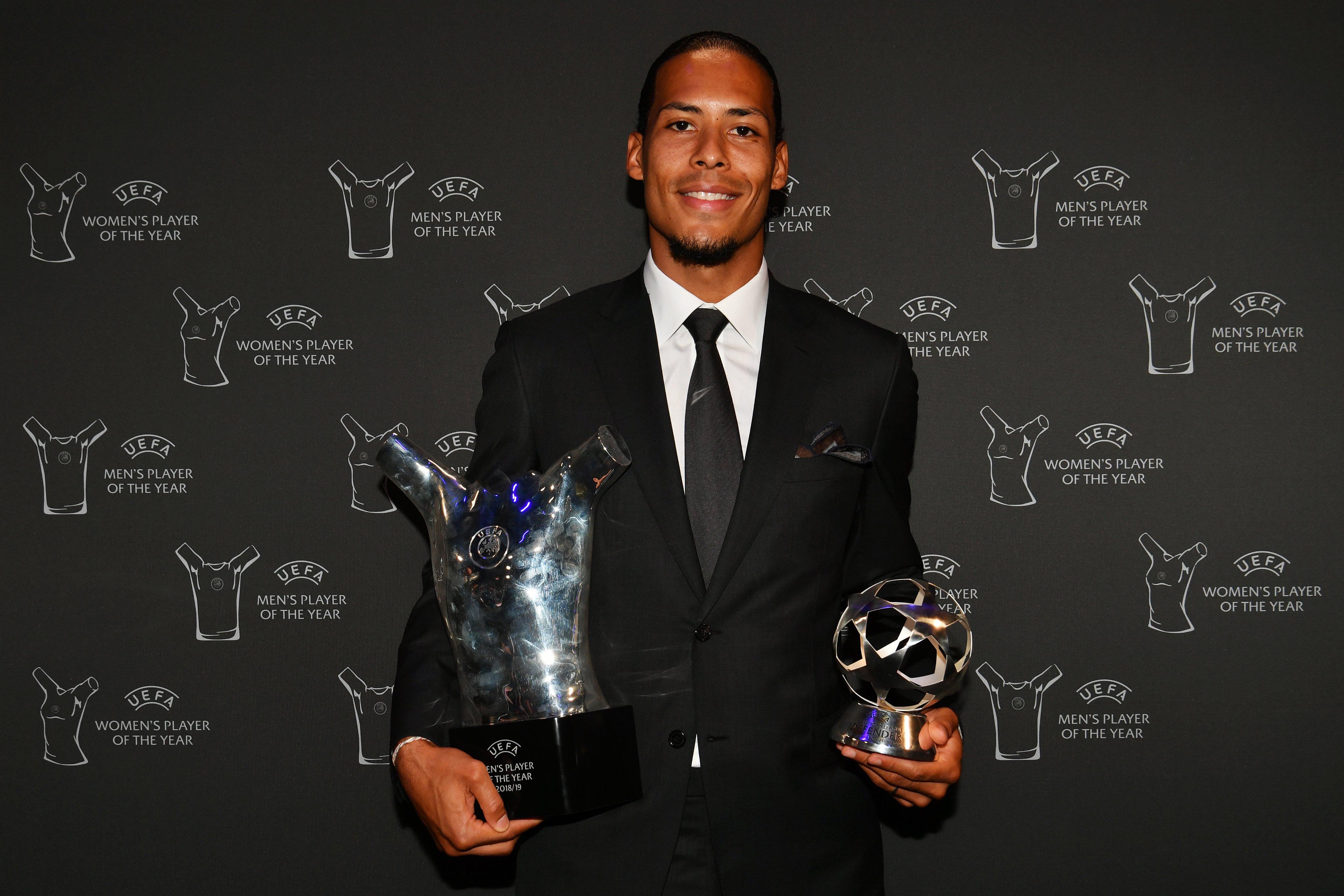 رسمياً: فان دايك أفضل مدافع في دوري الأبطال موسم 2018/19