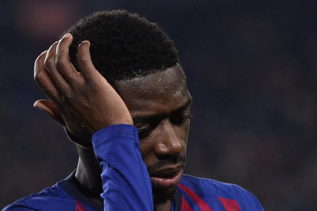 برشلونة يكشف تفاصيل إصابة ديمبلي المفاجئة