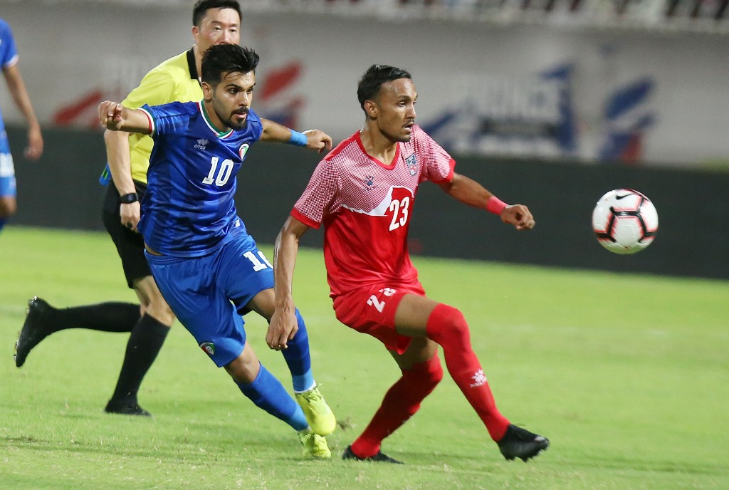 الكويت تدك شباك نبيال بسباعية في تصفيات كأس العالم 2022