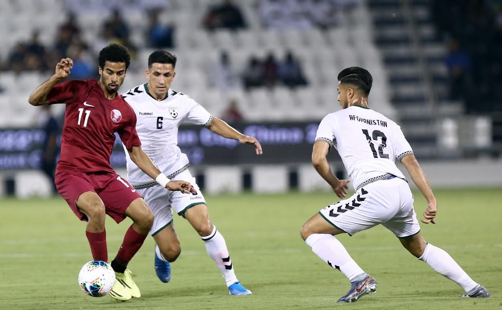 قطر تكتسح أفغانستان في تصفيات آسيا المؤهلة لكأس العالم 2022