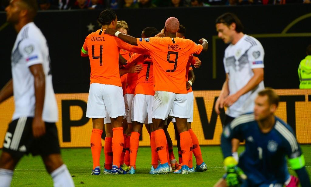 هولندا تصعق ألمانيا برباعية في تصفيات يورو 2020