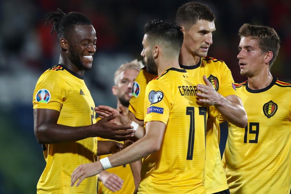 بلجيكا يتخطى سان مارينو برباعية في تصفيات يورو 2020