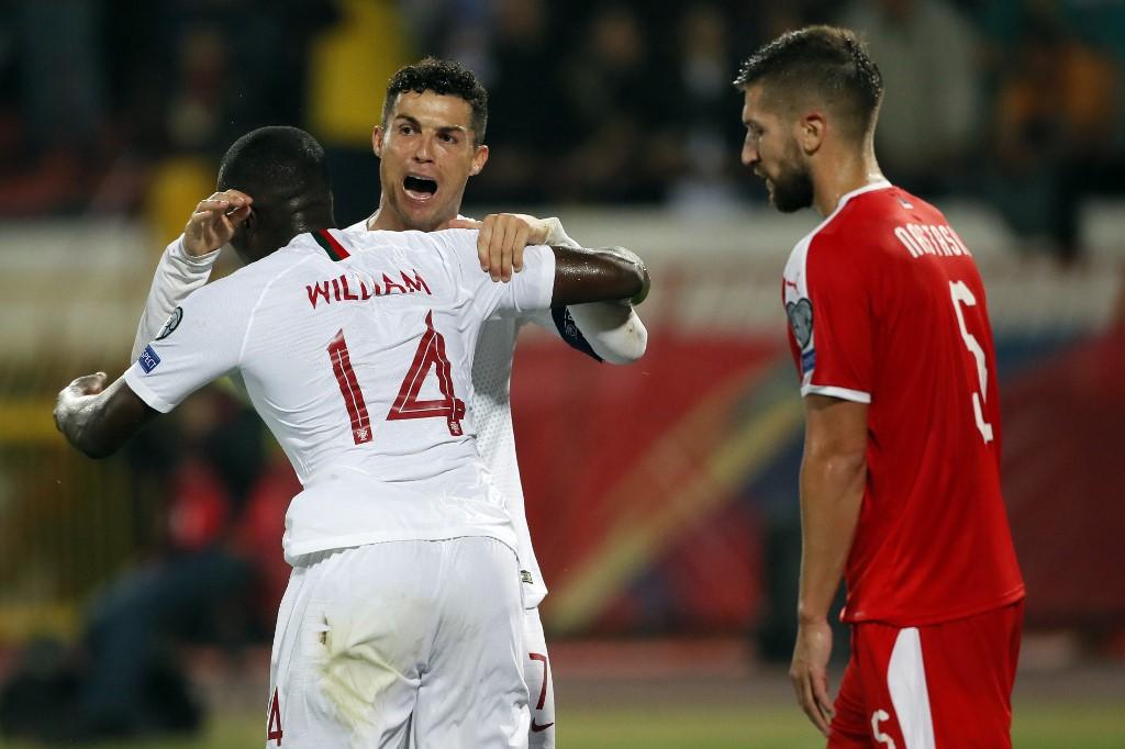 البرتغال تعود بالنقاط الثلاث من صربيا في التصفيات المؤهلة ليورو 2020