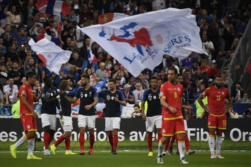 فرنسا تنتصر على أندورا بثلاثية نظيفة في التصفيات المؤهلة إلى يورو 2020