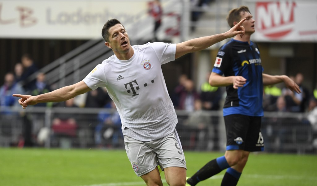 بايرن ميونيخ يحقق فوز مثير على بادربورن في الدوري الألماني