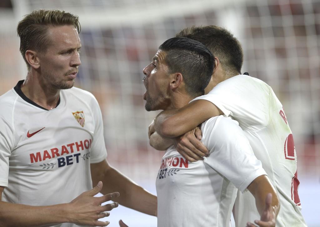 إشبيلية يكتسح ديديلانجي بخماسية في الدوري الأوروبي