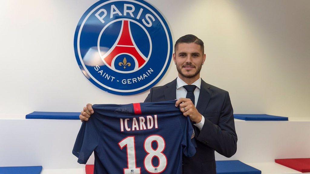 رسمياً … إيكاردي ينضم إلى باريس سان جيرمان