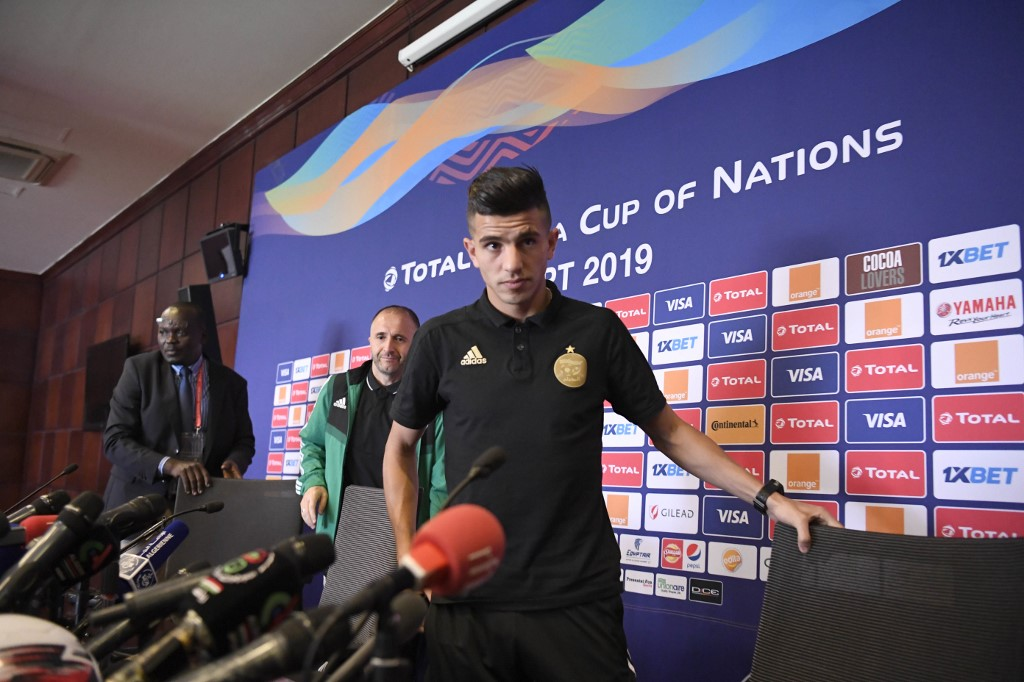 لاعب جزائري في طريقه لريال مدريد