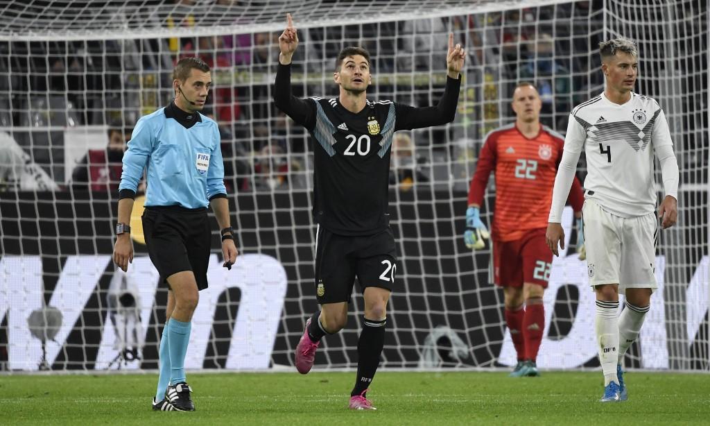 الأرجنتين تتعادل مع ألمانيا ودياً