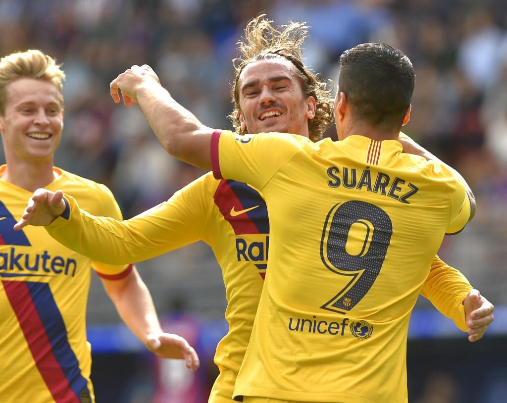 برشلونة يسحق إيبار بثلاثية نظيفة في الدوري الإسباني