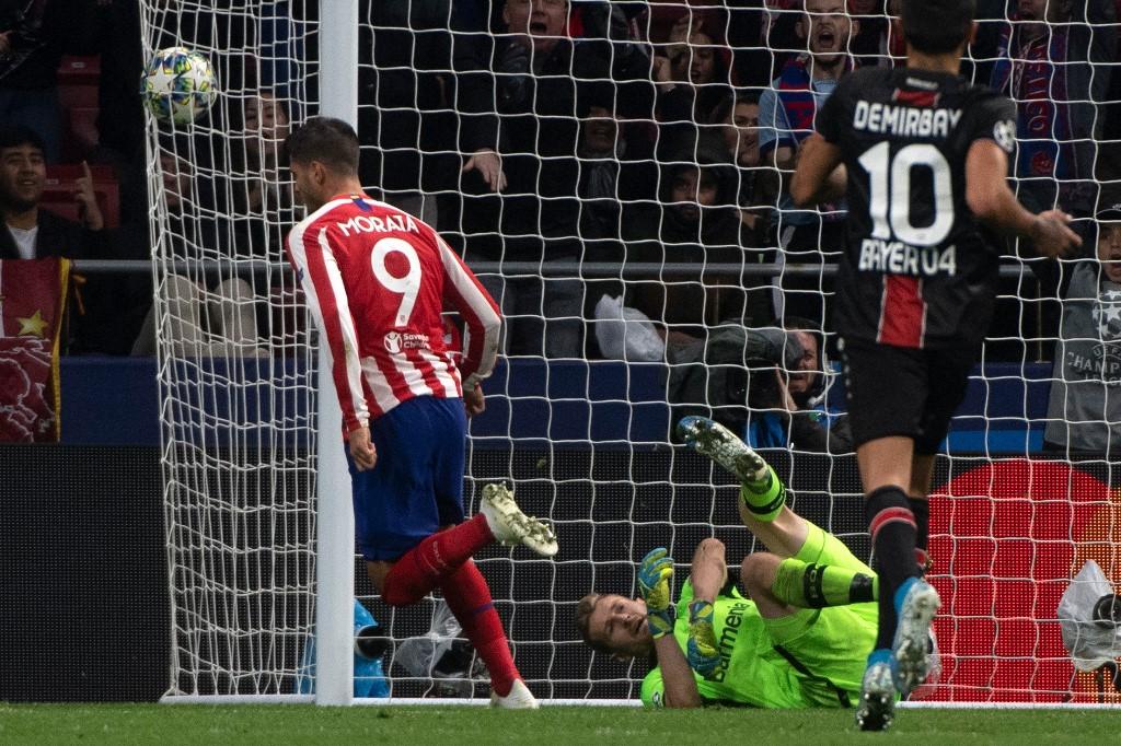 أتلتيكو مدريد يحقق فوز ثمين على حساب باير ليفركوزن في دوري الأبطال