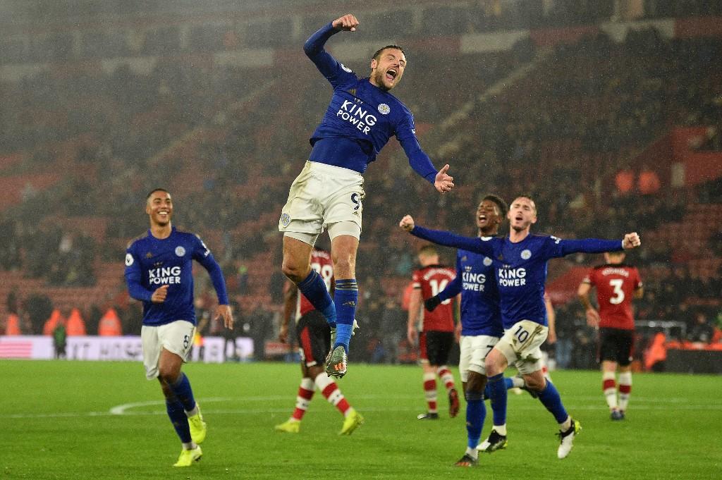 انتصار تاريخي لنادي ليستر سيتي على حساب ساوثامبتون في الدوري الإنجليزي