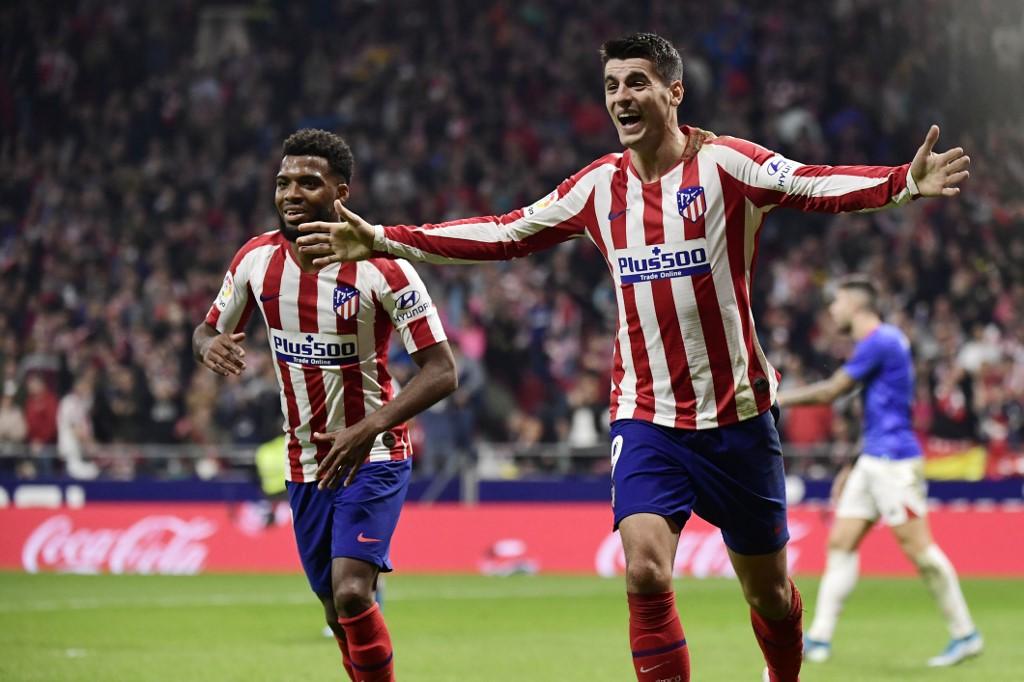 أتلتيكو مدريد يهزم أتلتيك بيلباو  بثنائية في الدوري الإسباني