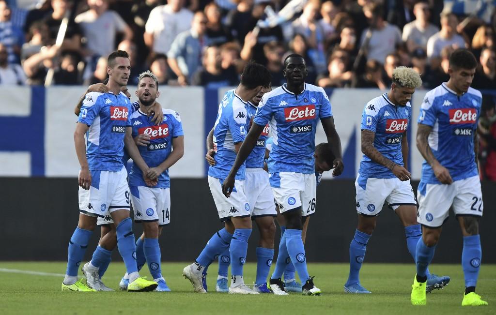 نابولي يسقط في فخ التعادل أمام سالزبورغ  في دوري الأبطال