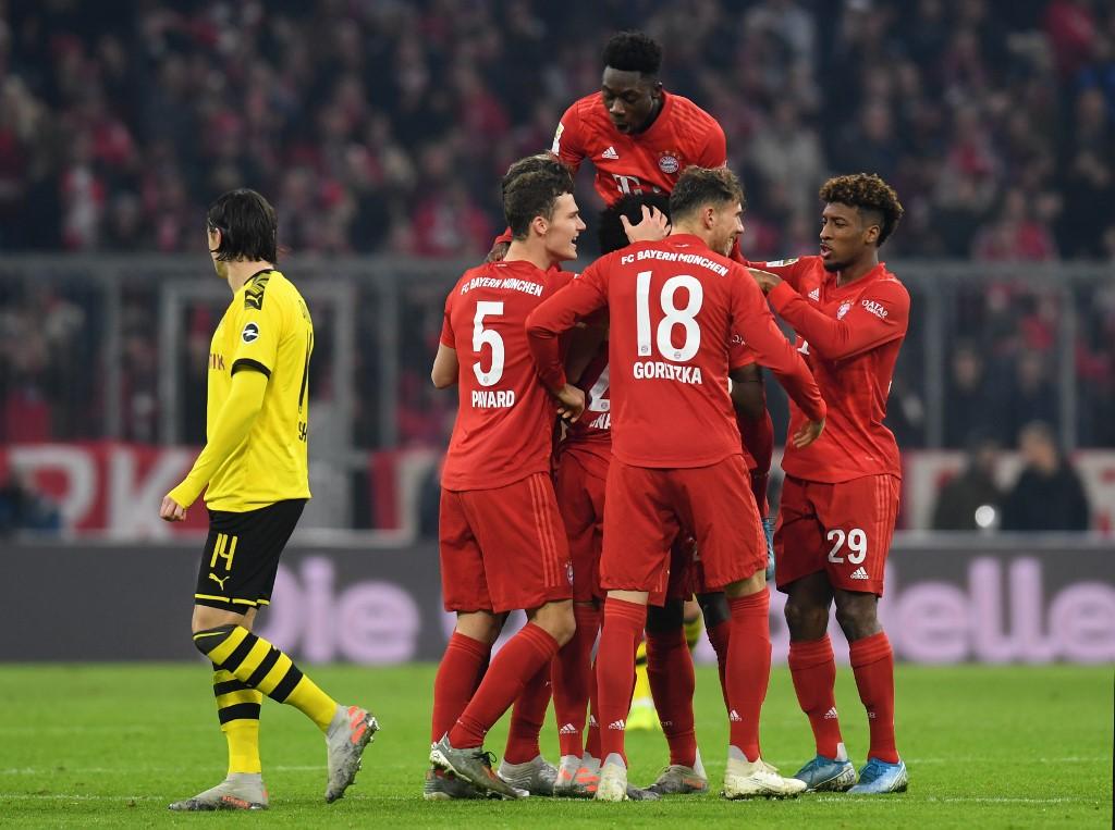 بايرن ميونخ يذل بروسيا دورتموند برباعية نظيفة في الدوري الألماني