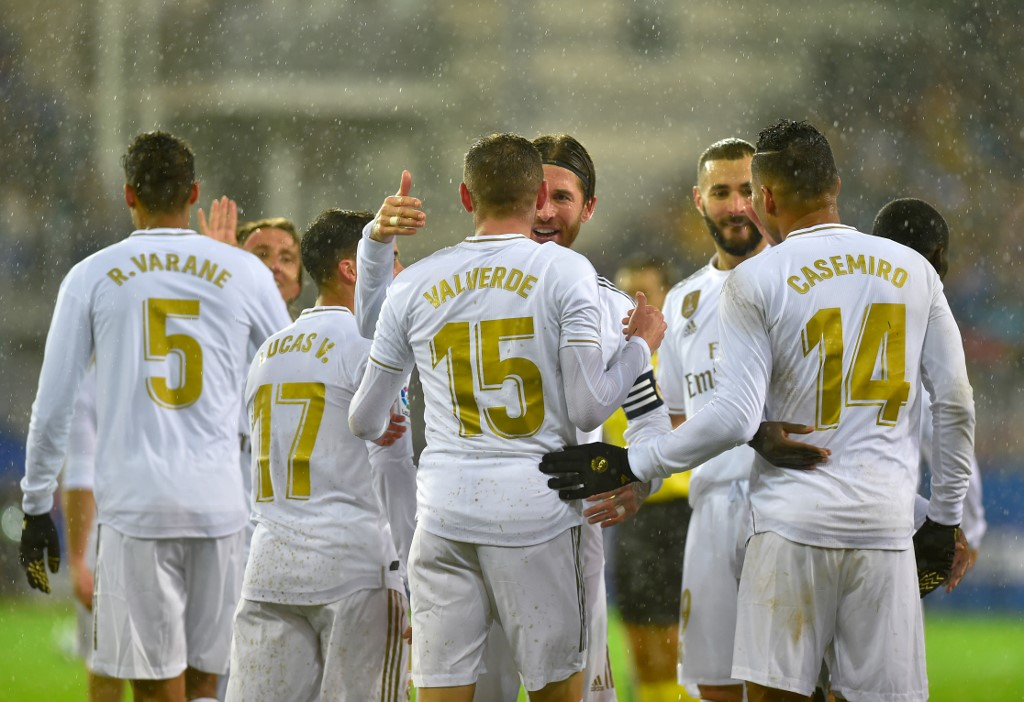 ريال مدريد يكتسح إيبار برباعية في الدوري الإسباني