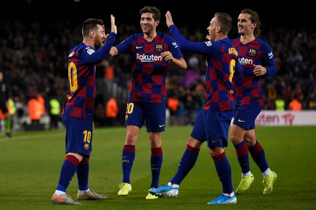 برشلونة يهزم سيلتا فيغو ويستعيد الصدارة من ريال مدريد