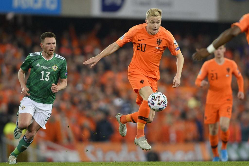 هولندا تتأهل إلى يورو 2020 رغم سقوطها في فخ التعادل أمام إيرلندا