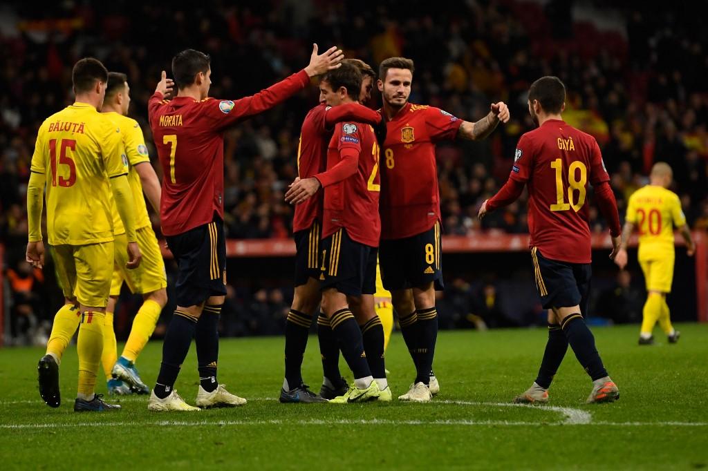 إسبانيا تسحق رومانيا في ختام تصفيات يورو 2020