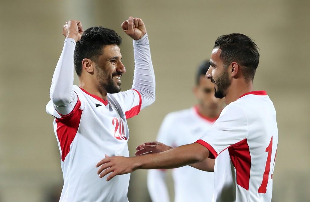 الأردن يسحق الصين تايبيه بخماسية في تصفيات كأس العالم 2022