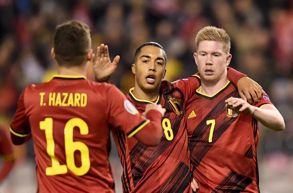 بلجيكا تهزم كازاخستان بثنائية نظيفة في التصفيات المؤهلة ليورو 2020
