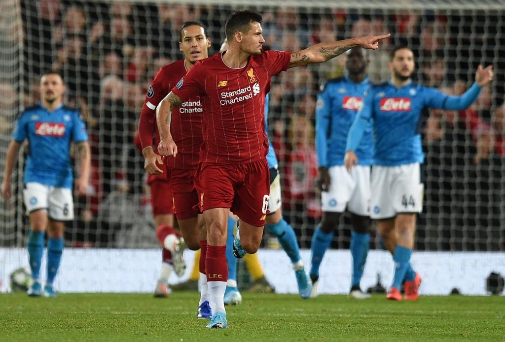 ليفربول يتفادى الهزيمة بتعادل مثير مع نابولي في دوري الأبطال