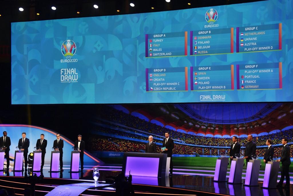 عاجل ورسمياً … قرعة بطولة يورو 2020